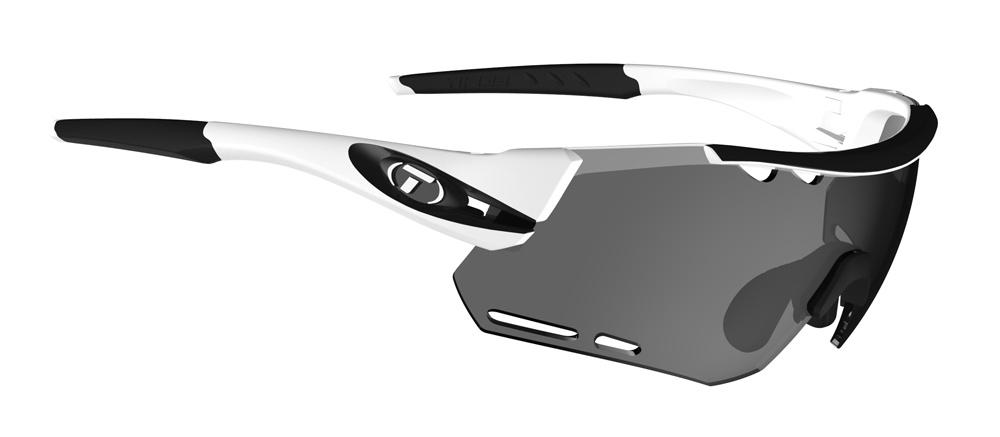 Tifosi ALLIANT White Black Smoke CYCLING Sunglasses